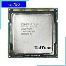 Intel Core i5-750 i5 750 2.6 GHz dört çekirdekli İşlemci 8M 95W LGA 1156