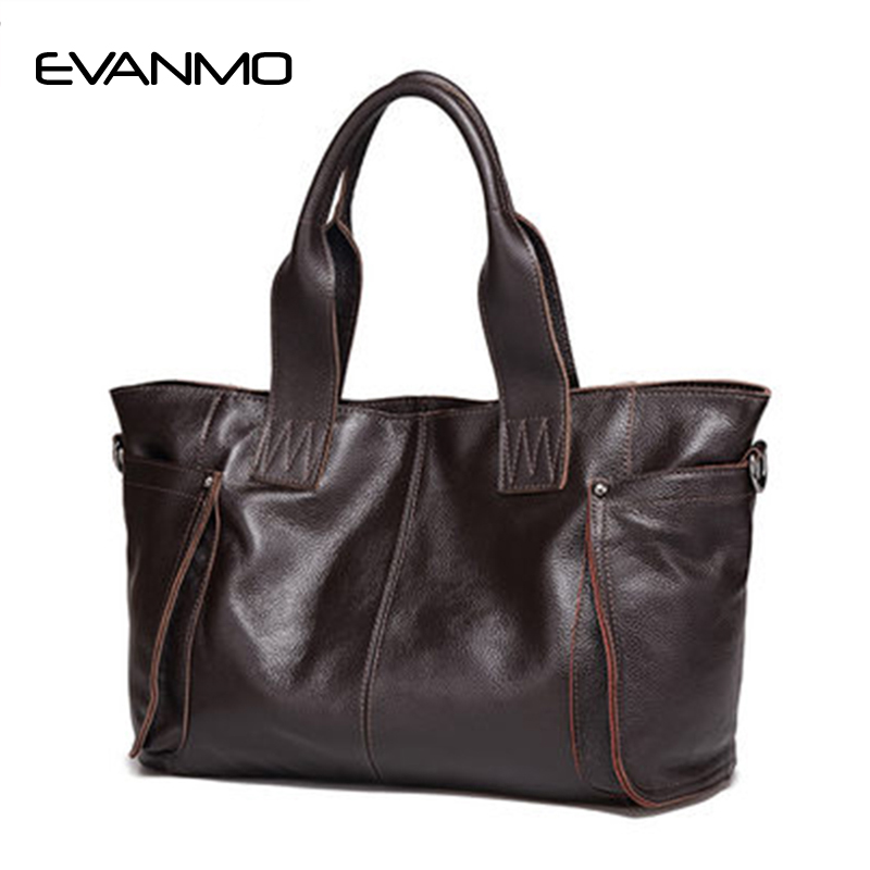 2017 Ladies Large Capacity Hand Bags Famous Brand Bags High Quality 100 Genuine Leather Bags Ladies
