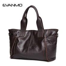 2019 Ladies Large Capacity HandBags Popular Big Tote Bags Women Top Quality 100% Genuine Leather Office Lady Shoulder Handbag