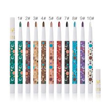 Huamianli 2017 Direct Selling Single 10-color Pearl Color Eye Shadow Pen Is Not Sumi New Waterproof  easy to wear long-lasting