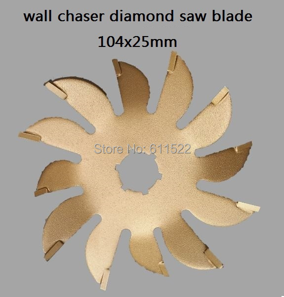 wall chaser blade saw 110mm diamond blade saw for wall cutter 25mm width at good price and fast delivery
