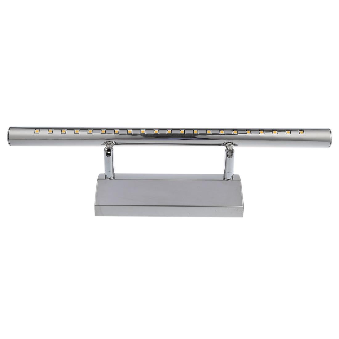 5 w 21 led 5050 smd in acciaio inox lampada da parete luce specchio bagno lampada