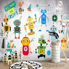 Buy Robot Wallpaper And Get Free Shipping On Aliexpress Com