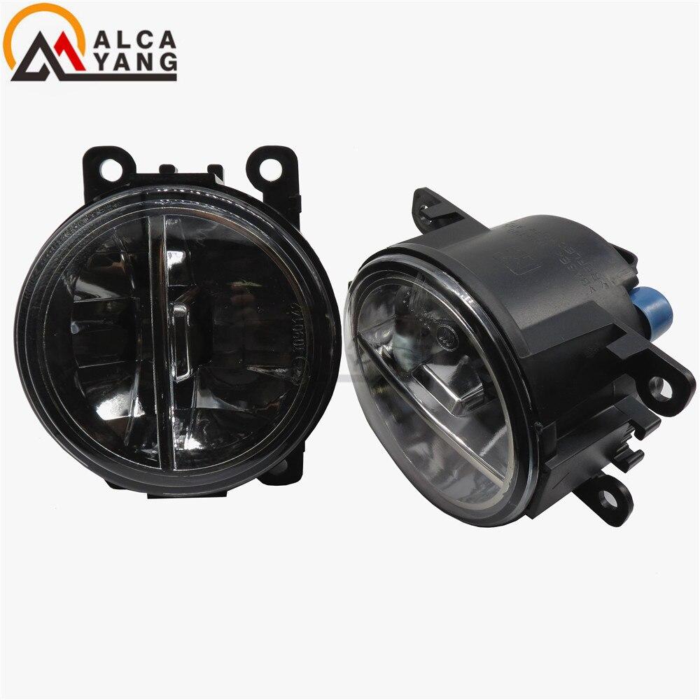 Malcayang For SUZUKI SX4 GY Hatchback 2006-2014 10W Fog Light LED Car Styling lamps накладка на задний бампер suzuki sx 4 5d 2006