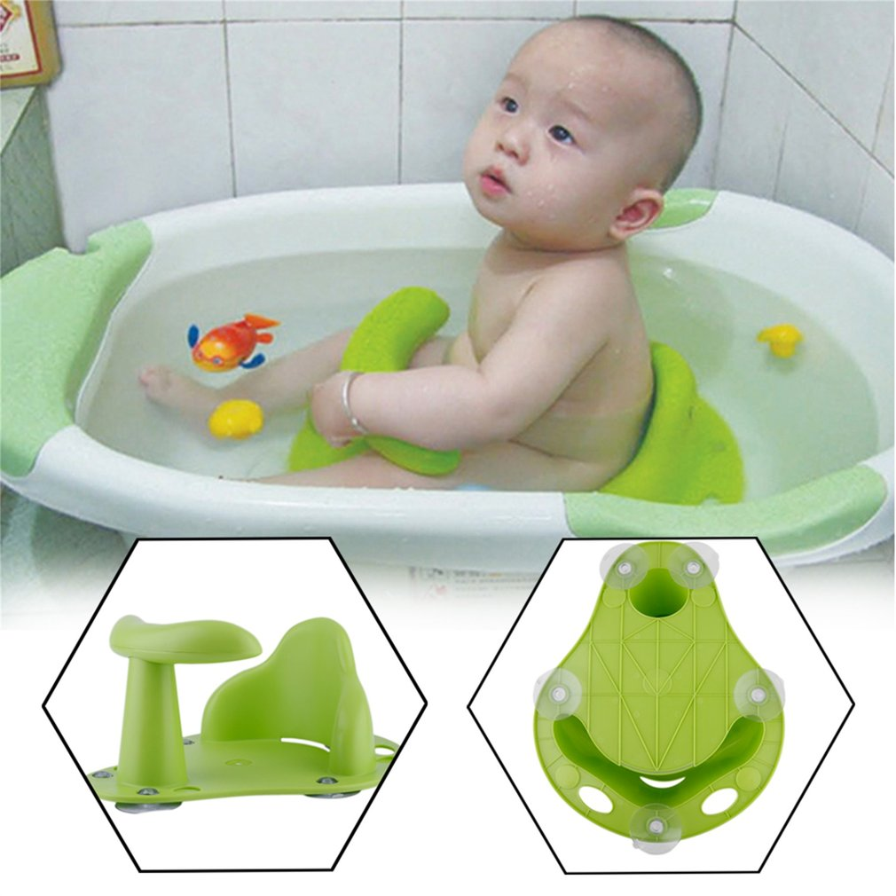 Baby Bathing Chair Tub Ring Seat Baby Anti Slip Safety Chair Kids