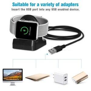 Image 2 - Kablosuz şarj Dock standı tutucu Apple için İzle serisi 4 40/44mm Dropshipping Oct.5