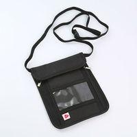 Passport Holder Travel Wallet Hidden Belt Neck Pouch RFID Blocking Safe Case Phone Cover Coin Organizer