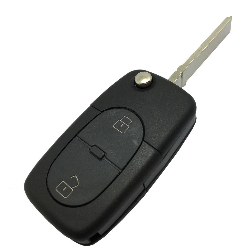 5pcs lot replacement keyless entry remote flip key fob fits 1998 1999 2000 2001 vw