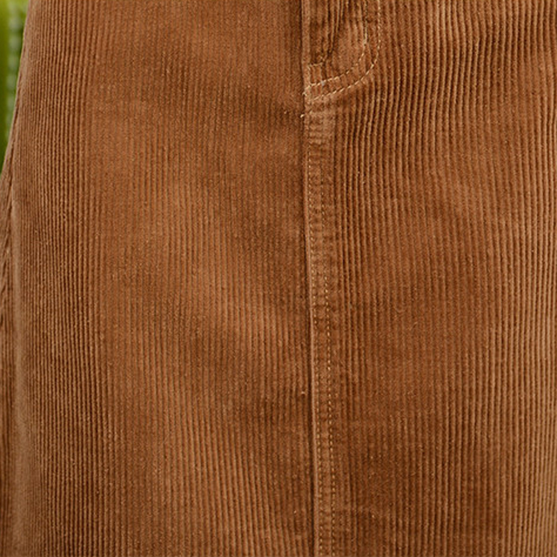 Arrivée Nouvelle Femmes Maxi Taille Épais gris Automne Casual Jupes 2017 Haute Sm055 Jupe Longue Velours Marron qTqdUwFxr