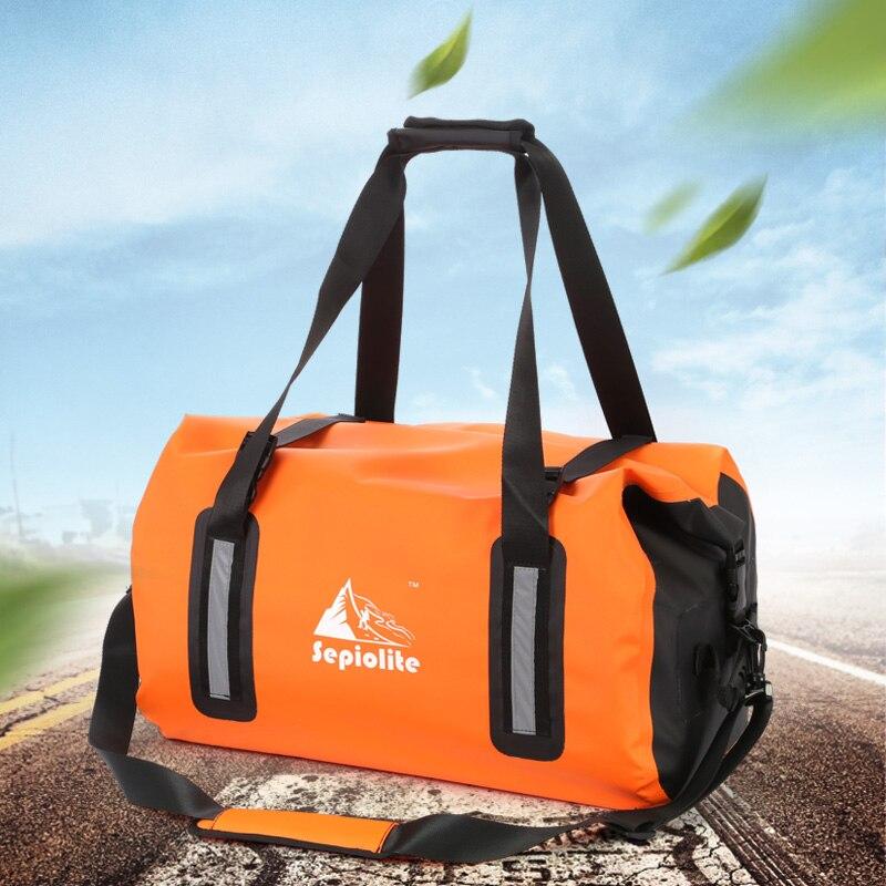 Hot Sale Sepiolite Brand 35l Big Capacity Outdoor Waterproof Swimming Bags Lightweight Floating Dry Bag Camping Hiking Backpack