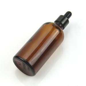Image 4 - 試薬スポイトドロップアンバーガラスアロマセラピー液体ピペットボトル詰め替えボトル