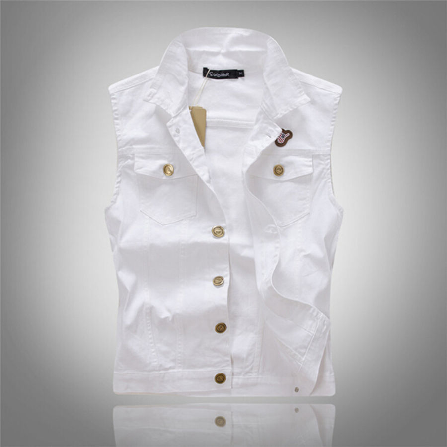 Compare Prices on White Jean Vest- Online Shopping/Buy Low Price ...