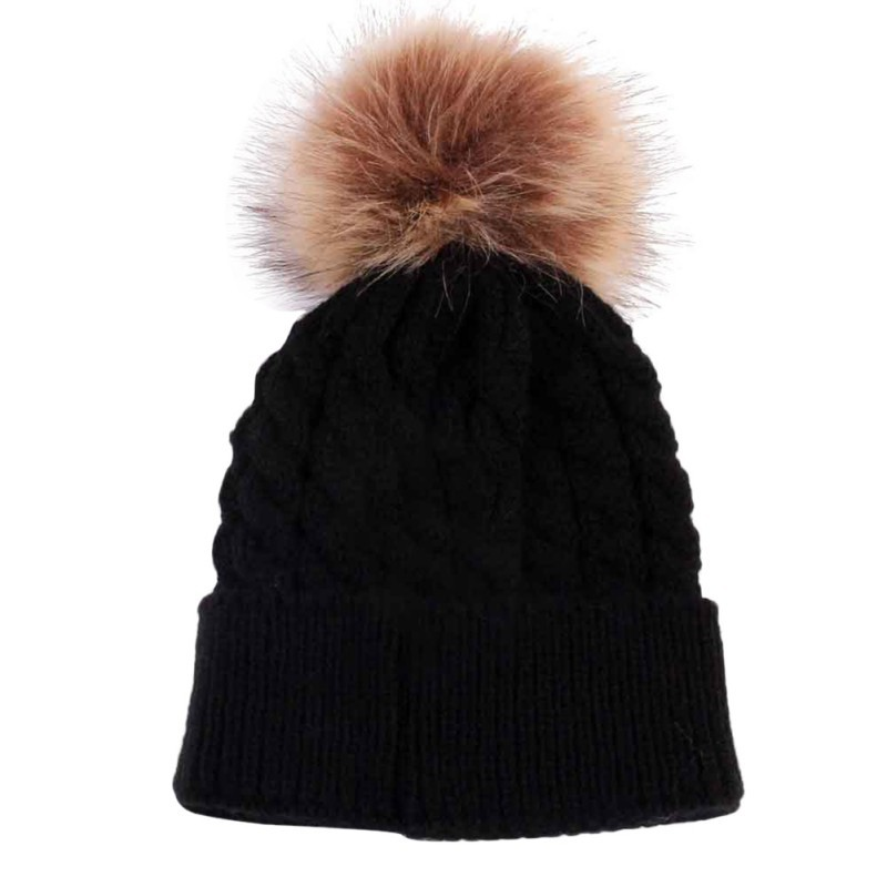 Kids Girls Boys Hats Winter Warm Baby Accessories