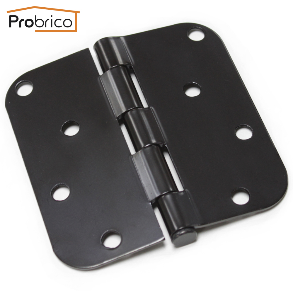 Probrico Door Hinges 9 Pack DH0404ORB Black 4 x4 Furniture Hinges USA Domestic Delivery marcrown marcrown orb 4