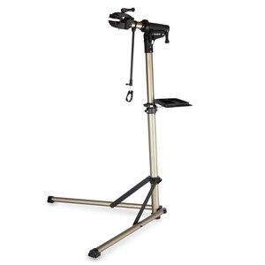 Image 5 - Support de réparation de vélo professionnel et pliable en alliage daluminium, support de travail réglable pour mécaniciens à domicile et entretien