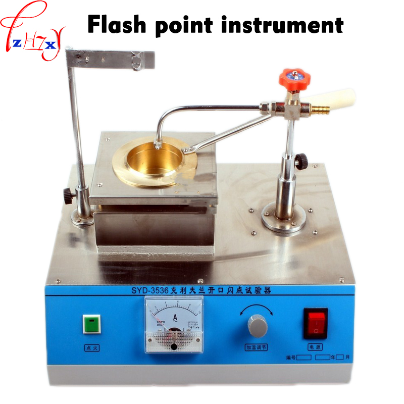 Asphalt Cleveland Flash Point Apparatus SYD 3536 Asphalt Ignition Point Tester Open Flash Experiment Machine 220V