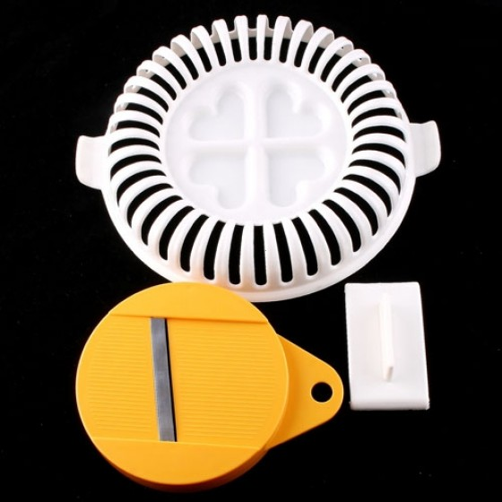 Portable  Kitchen Gadgets Cooking Cook Healthy Microwave DIY Potato Chips Maker