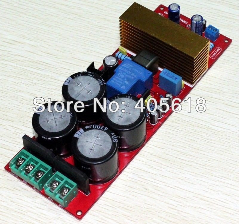 Class D IRAUD550 IRS2092 IRFB23N15D+speaker protection Amplifier