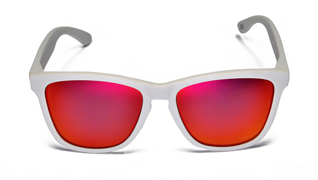 6ed78bb9314 2015 new Hawkers polarized sunglasses sunglasses arctic white picture frame  ruby red lens Men s and women s sports sunglasses