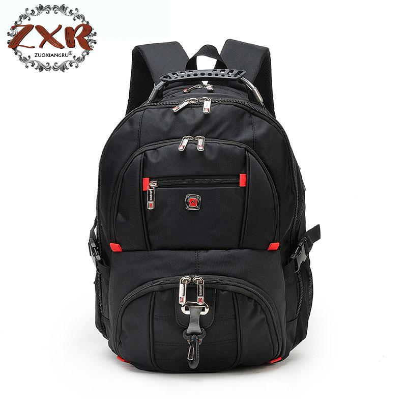 2018 New Korean Laptop Backpack 14 Inch Quality Male Brand Large Capacity Business Backpack Travel Bag Schoolbag