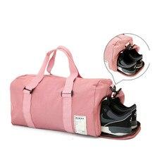 Handbag Duffle Gym-Bag Women Shoulder-Bags Travel Sac-De-Sport Fitness-Training Outdoor