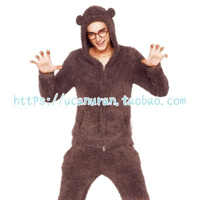 Japan GP Bear Style Pajamas Pyjamas Set Long Sleeve Sleepwear Pijama Pajamas Suit Sleep Two Piece Set Loungewear GELATO  PIQUE