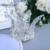 Alto Grado Círculo Redondo Pelo de La Perla Nupcial de La Princesa Tiaras Coronas Para Niños Blanco Plateado Plata de la Boda Accesorios Para el Cabello