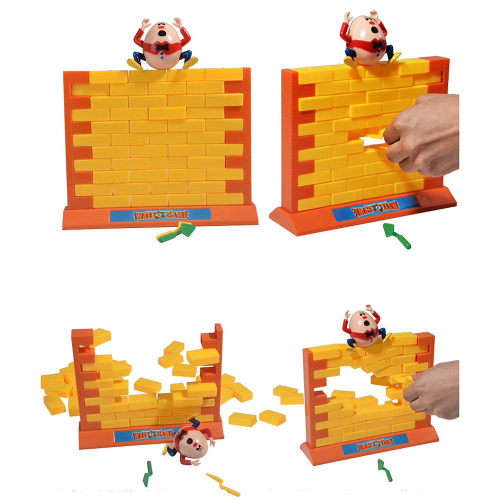 MUQGEW Wall Game Interactive 3D Plastic Parent Child Family Borad ...