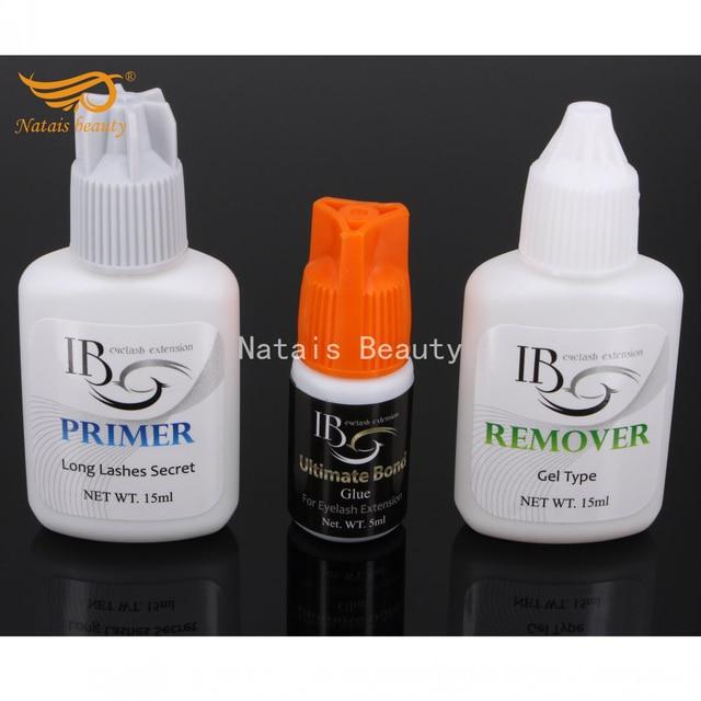 41fa5462629 I beauty 1 set Eyelash Extensions Kit Ultimate Bond Glue Primer Adhesive  Remover for Eyelash Extensions