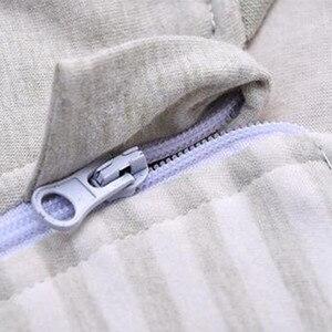 Image 4 - Sac de couchage bébé manches complètes nouveau né sac de sommeil 72*40cm bébé dormeur 0 12 mois