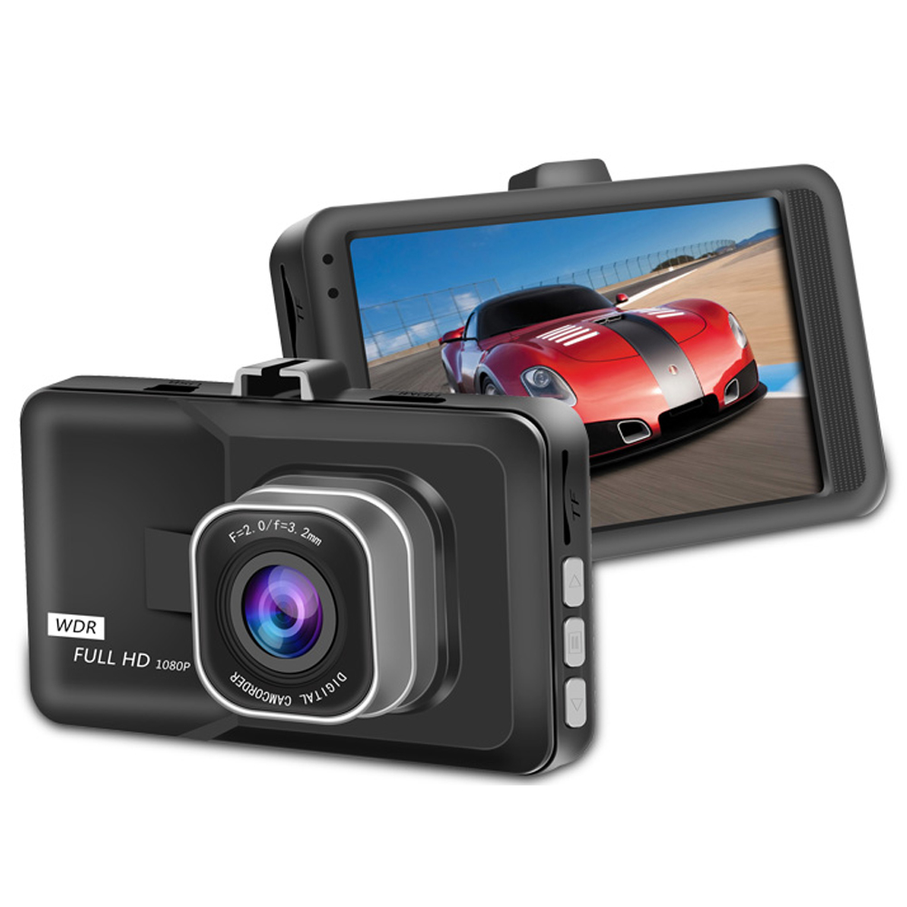 3.0 Inch Full HD Mini Hidden Type 1080P DVR Registrar Car Camera Digital Video Camcorder Parking Recorder G-Sensor Dash Cam