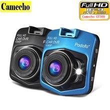 Podofo Camecho Mini Coche DVR Full HD 1080 P de Visión Nocturna Del Vehículo Cámara del coche Dvr Grabador de Vídeo Registrator Caja Carcam Dash Cam A8