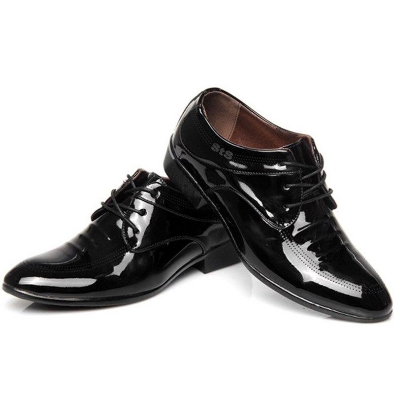 2017 Primavera Nueva Llegada de Los Hombres de La Moda Zapatos de - Zapatos de hombre - foto 2