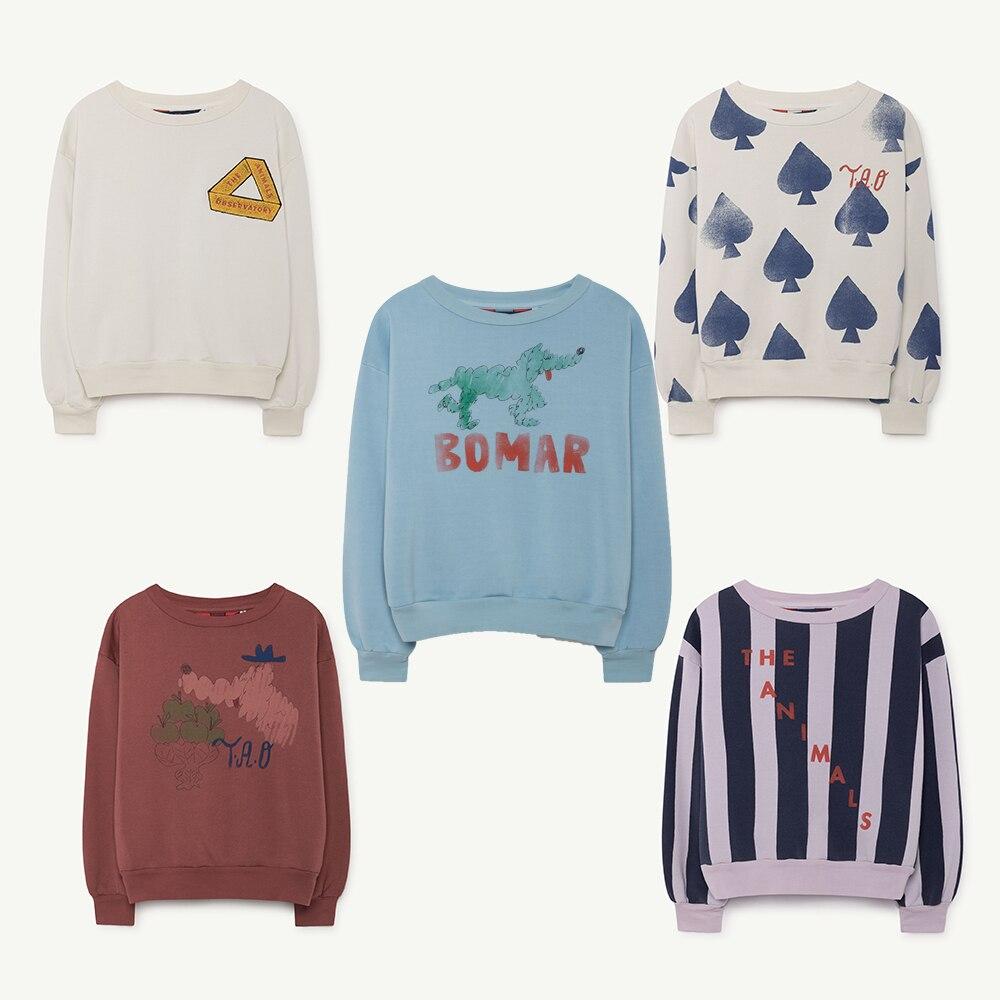 26506bce0b4a Kids sweatshirt 2019 Autumn Winter BOBO choses Tao Baby Girls boys Hoodies  long sleeve sweater children T shirt clothes vestidos
