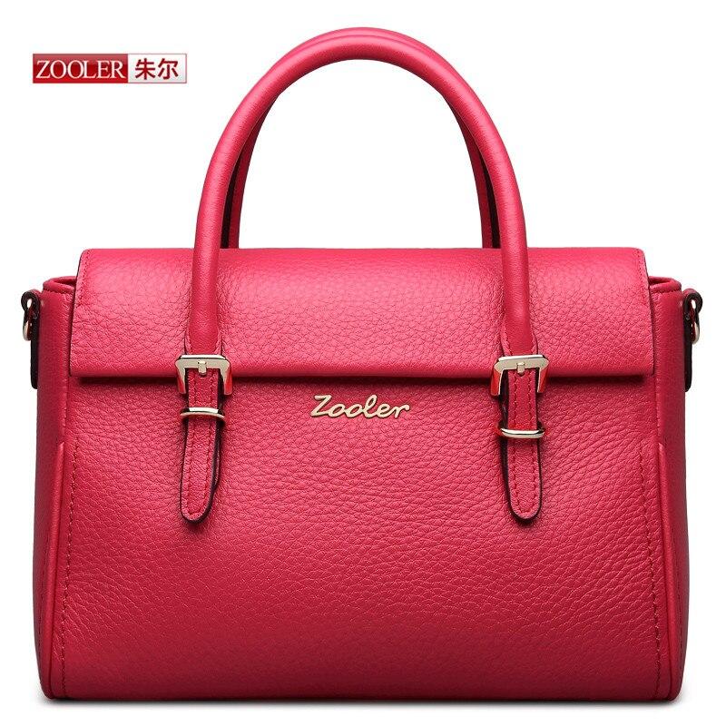 ZOOLER Натуральная кожа женщина сумки высокое качество коровьей сумки женские люксовый бренд моды сумки на ремне