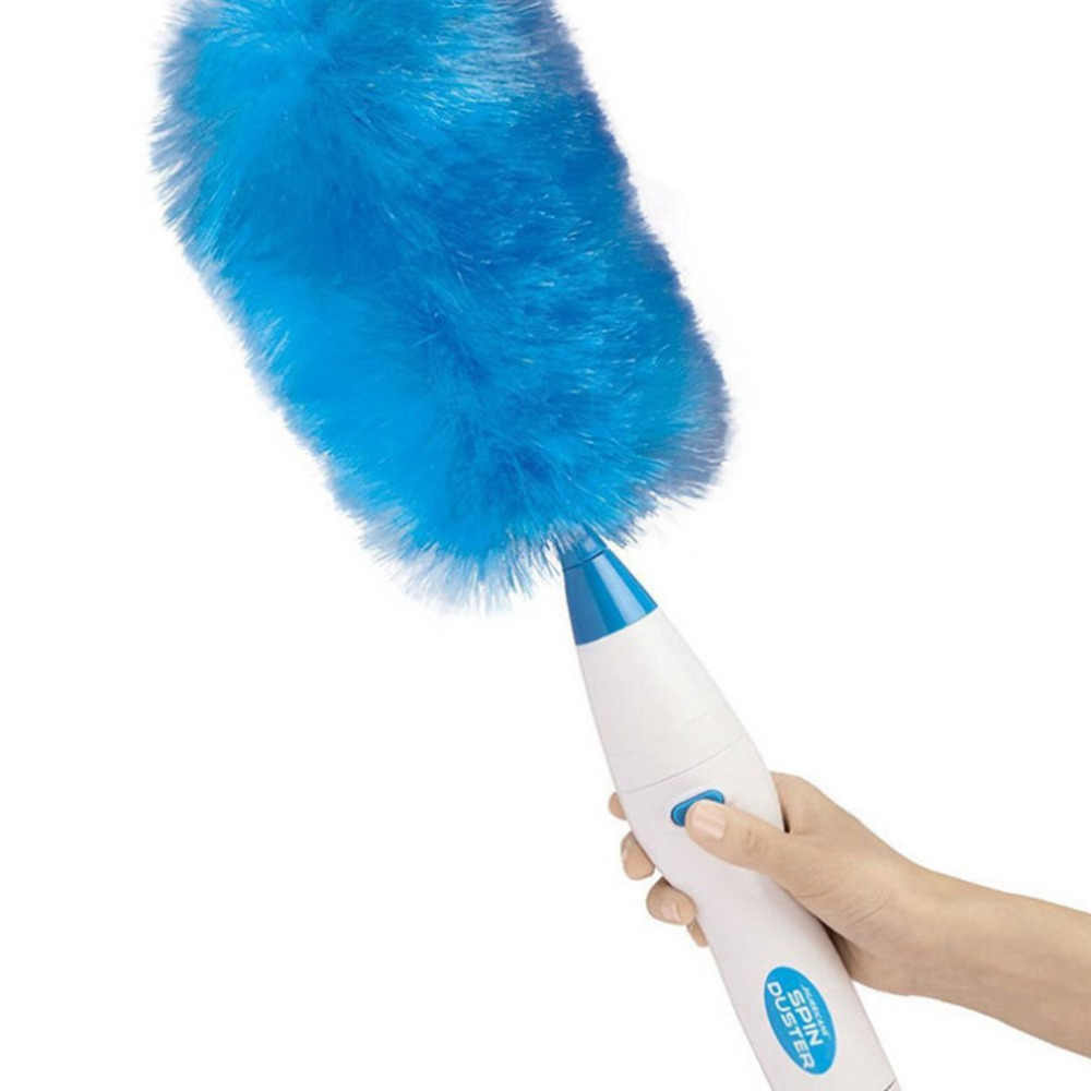 Multifunction Rotary Duster Cleaner Electric Feather Duster 180 degree Bending 360 Degree Rotation Cleaning Brush Dust Collector