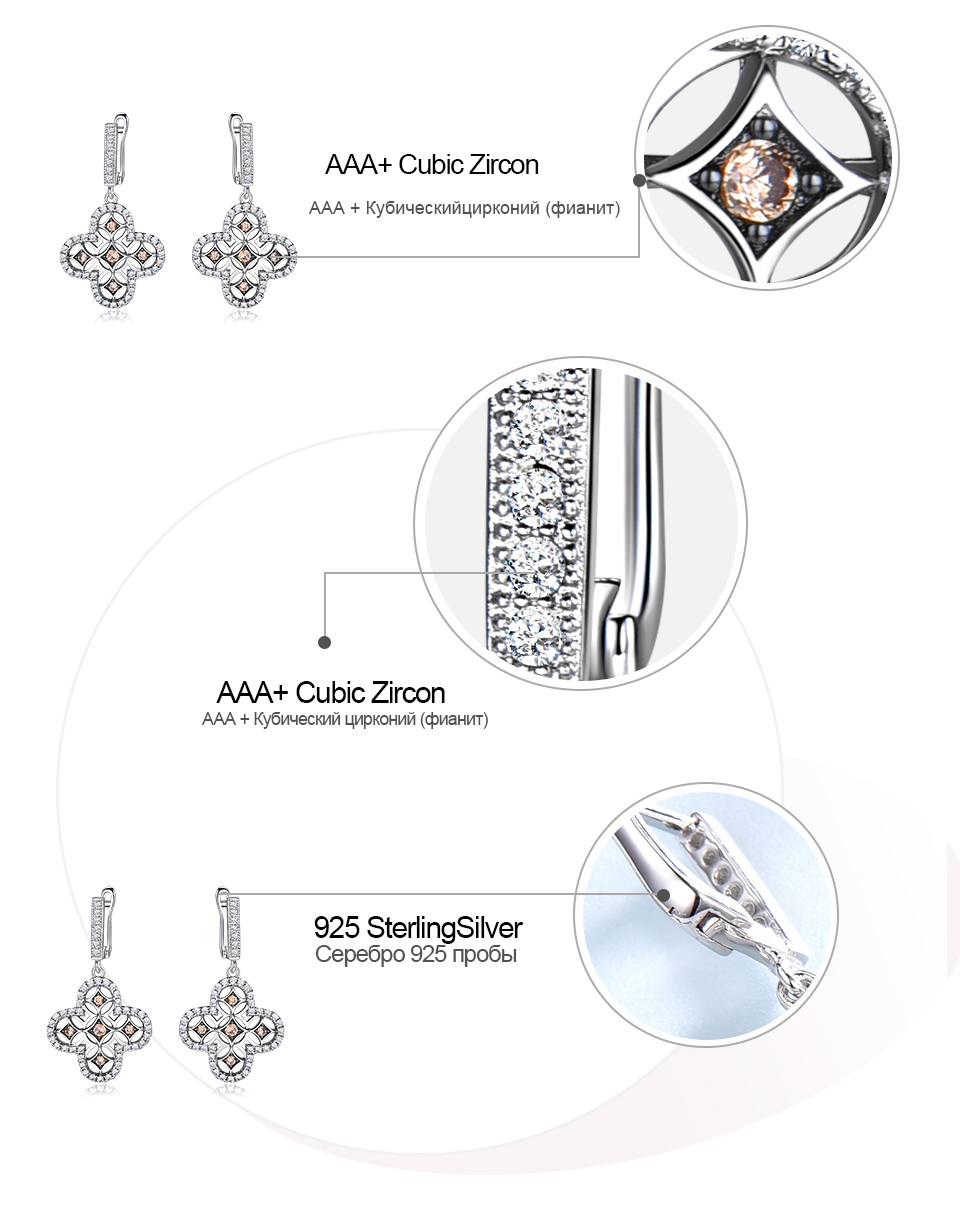 Honyy  925 sterling silver earring for women EUJ089Z-1-PC (8)