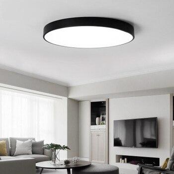 Xsky Ultra-dünne 5 cm LED Decke Licht Runde Einfache Decke Lampen Led  Luminaria für Wohnzimmer Schlafzimmer Ceilling home Beleuchtung