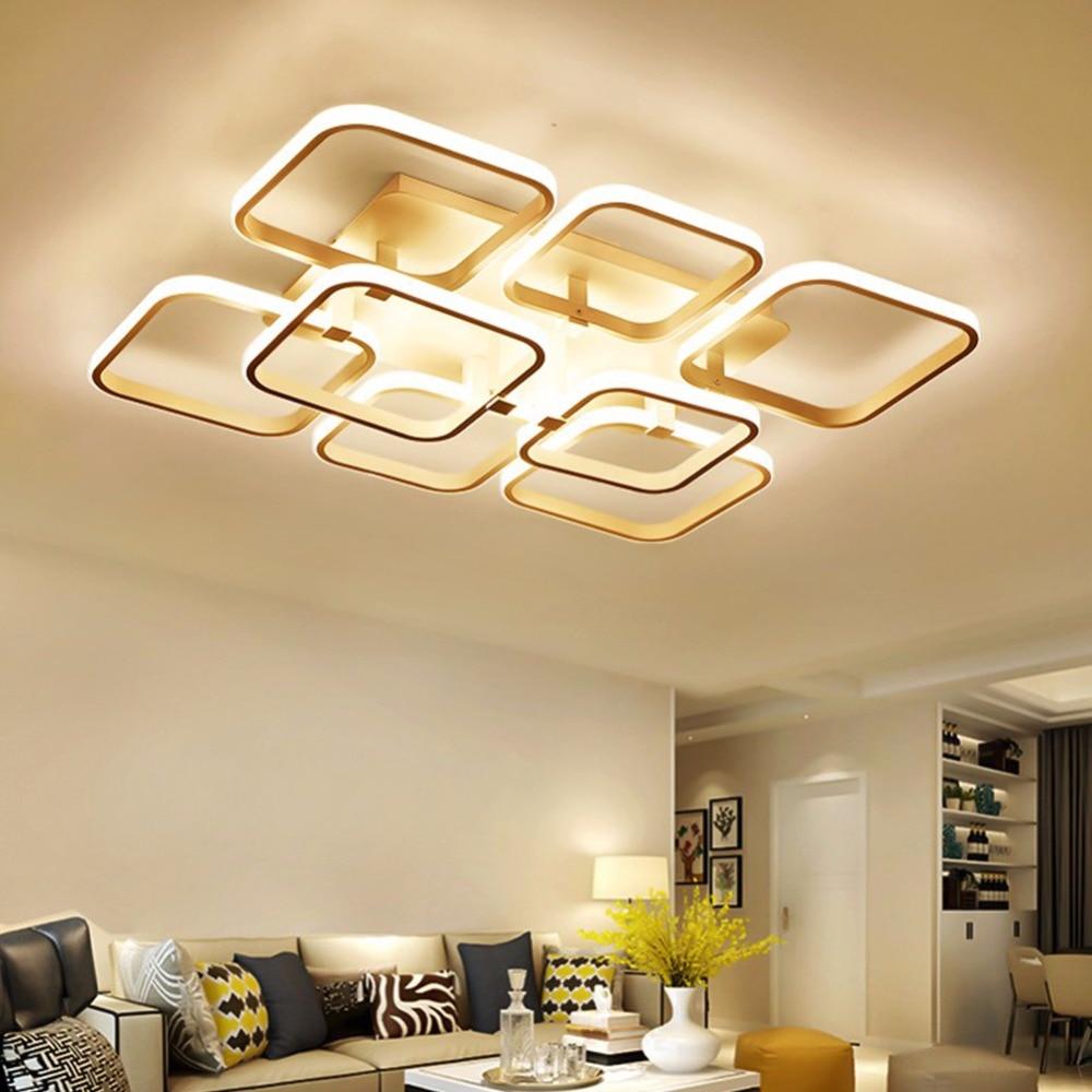 Modern Led Pendant Lamps Living Room Acrylic Fixture: Aliexpress.com : Buy Modern LED Chandelier Light Lamp