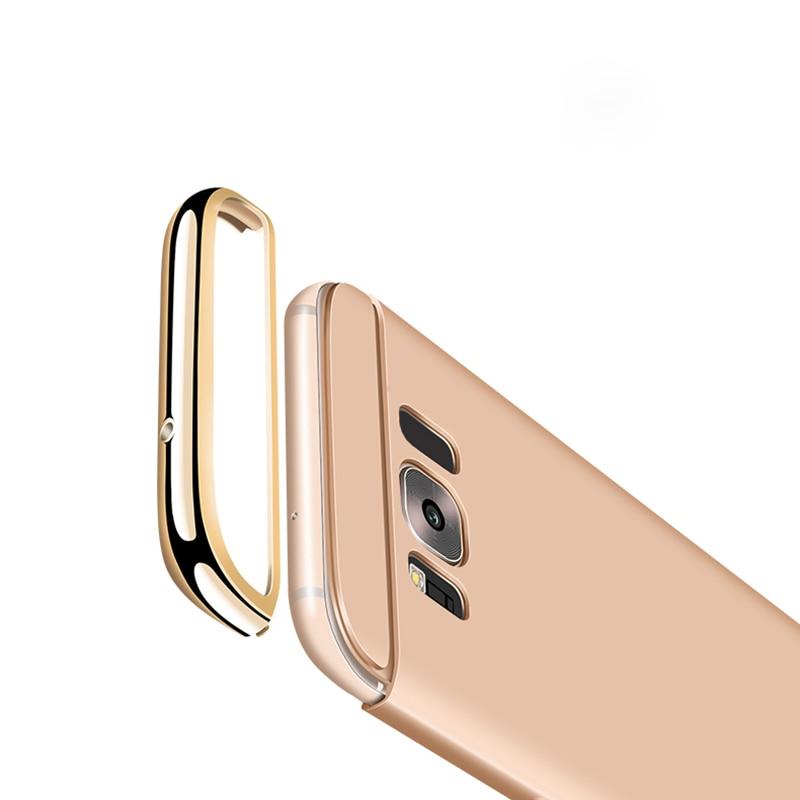 Samsung Galaxy S8 Plus Hard Shell Coque Üçün 1 Qızıl örtüklü - Cib telefonu aksesuarları və hissələri - Fotoqrafiya 6