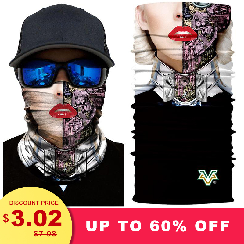 Cycling Hiking Pirate Scarf Outdoor Scarves Wraps Neck Warmer Tube Bandana Fishing Elastic Motorcycle Skull Buffe Magic Shemag In Many Styles Apparel Accessories