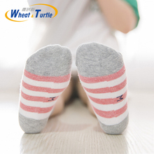 5pcs/Lot Mother Kids Childrens Clothing Socks Cotton Unisex Striped For Children Baby All Season Suitable Fashion