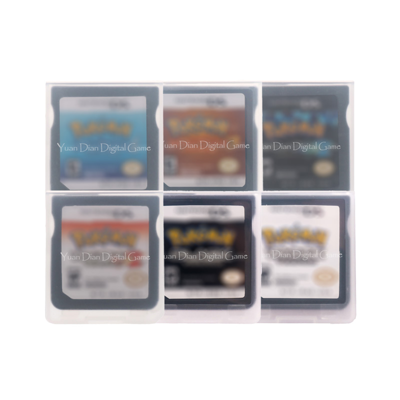 PokemonSeries Video Game Cartridge Console Card English Language US Version