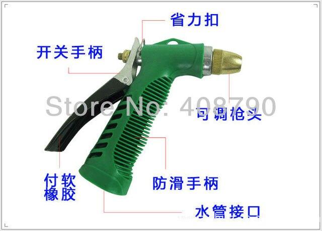 Free shipping Car wash device portable high pressure car wash water gun