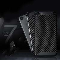 2018 Top Quality Super Sport Car Accessories Customized Logo Carbon Fiber Cover For iPhoneX 8 7 6s Plus 4.7 5.5 Carbon Case