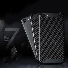 """Di alta Qualità Super Sport Accessori Auto Logo Personalizzato In Fibra di Carbonio Della Copertura Per iPhoneX 8 7 6s Plus 4.7 """"5.5"""" Caso di carbonio"""