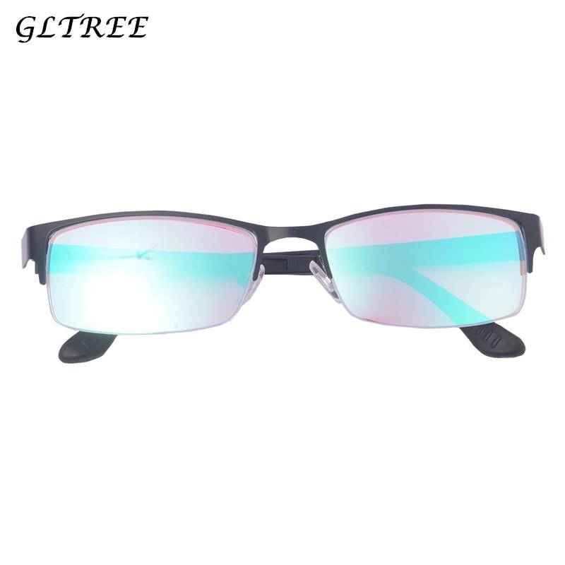 GLTREE Mode Couleur-la cécité Lunettes 2018 Demi Cadre Rouge Vert Couleur Aveugles lunettes de Soleil Femmes Daltonien Pilote Lunettes G400