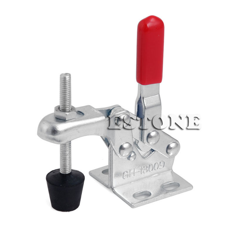 30Kg Vertical Toggle Clamp Quick Release Hand Tool Hold Capacity 66Lbs GH Hand Tools