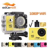 Goldfox Action Camera WiFi 1080P 2 0 Sport DV Go Waterproof Pro Camera Mini Camera Action