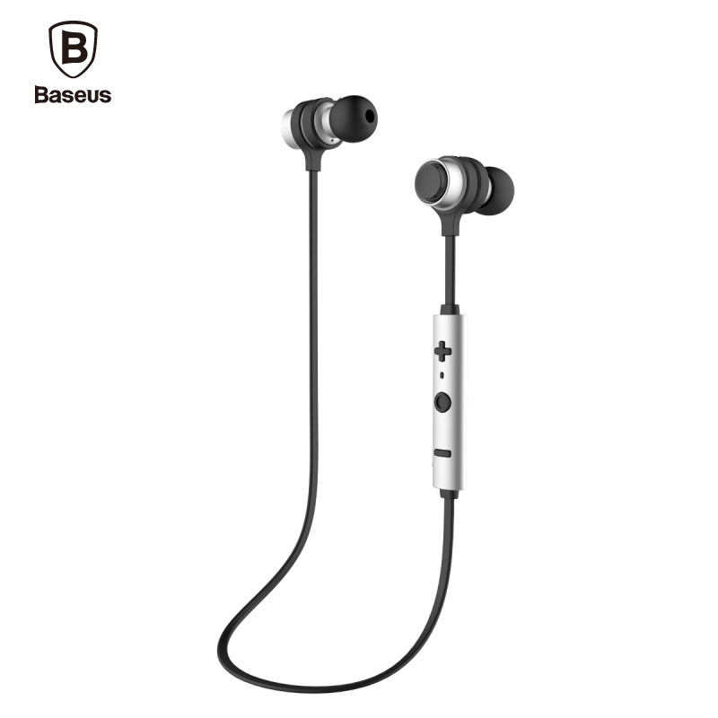 Baseus comma Professional In-Ear Earphone Metal Heavy Bass Sound Quality Music Earphone Magnet Headset fone de ouvido Bluetooth professional earphone metal heavy bass music earpiece for explay bit fone de ouvido